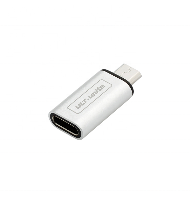 ULT-unite Hot Seller USB Type-C Female to USB 2.0 Micro USB Male OTG <strong>Adapter</strong> Converter
