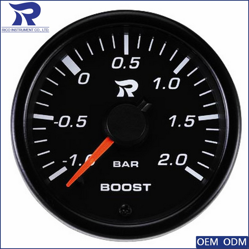 2016 new product for automobile car boost meter boost gauge