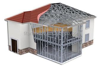 Prefab stalen frame huis villa d huis ontwerp tot australië markt