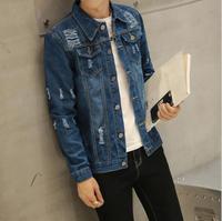 zm52053a online shopping clothing western style denim bomber jacket coat men