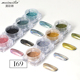 1Set Mirror Glitter Nails Chrome Pigment DIY Salon Micro Holographic Laser Nail Glitter Powder Art Decorations Manicure Tool