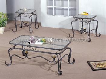 Genial USA Style Metal Artcraft With Wood And Glass XO Coffee Table
