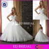 BY20 Modest Girl Party Sweetheart Lace Appliqued Ball Gown Dress Wedding