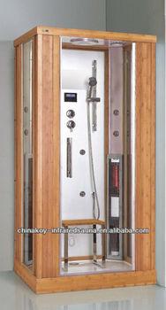 Indoor Far Infra Steam Sauna Shower Combination With CE