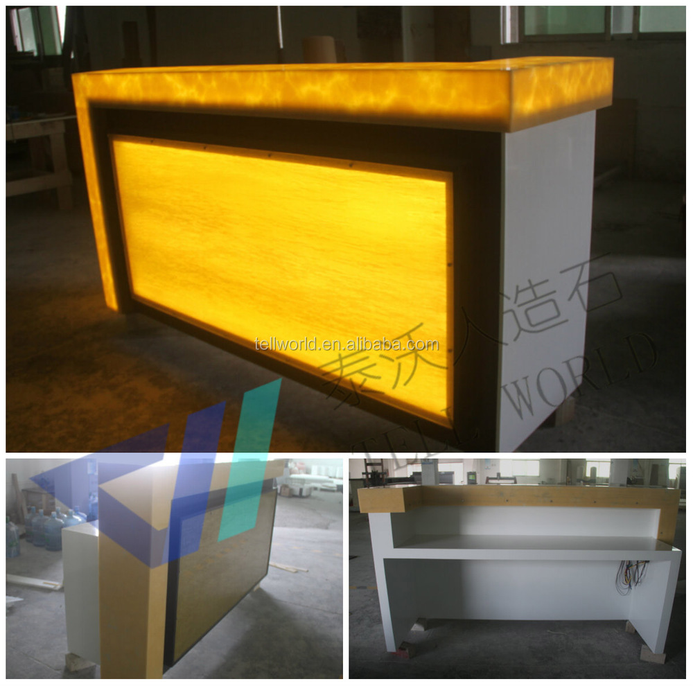 Modern 5 Colors Led Mobile Portable Bar Counter Mobile Bar