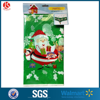 The Newest Popular PE Plastic Table Cover / Christmas Design / Party Printed Table Cloth