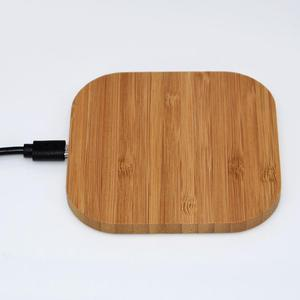 For iPhone Xr wood wireless charger 10W fast bamboo wireless charging pad super fast charge