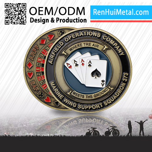 2016 China Modern OEM brand coin token