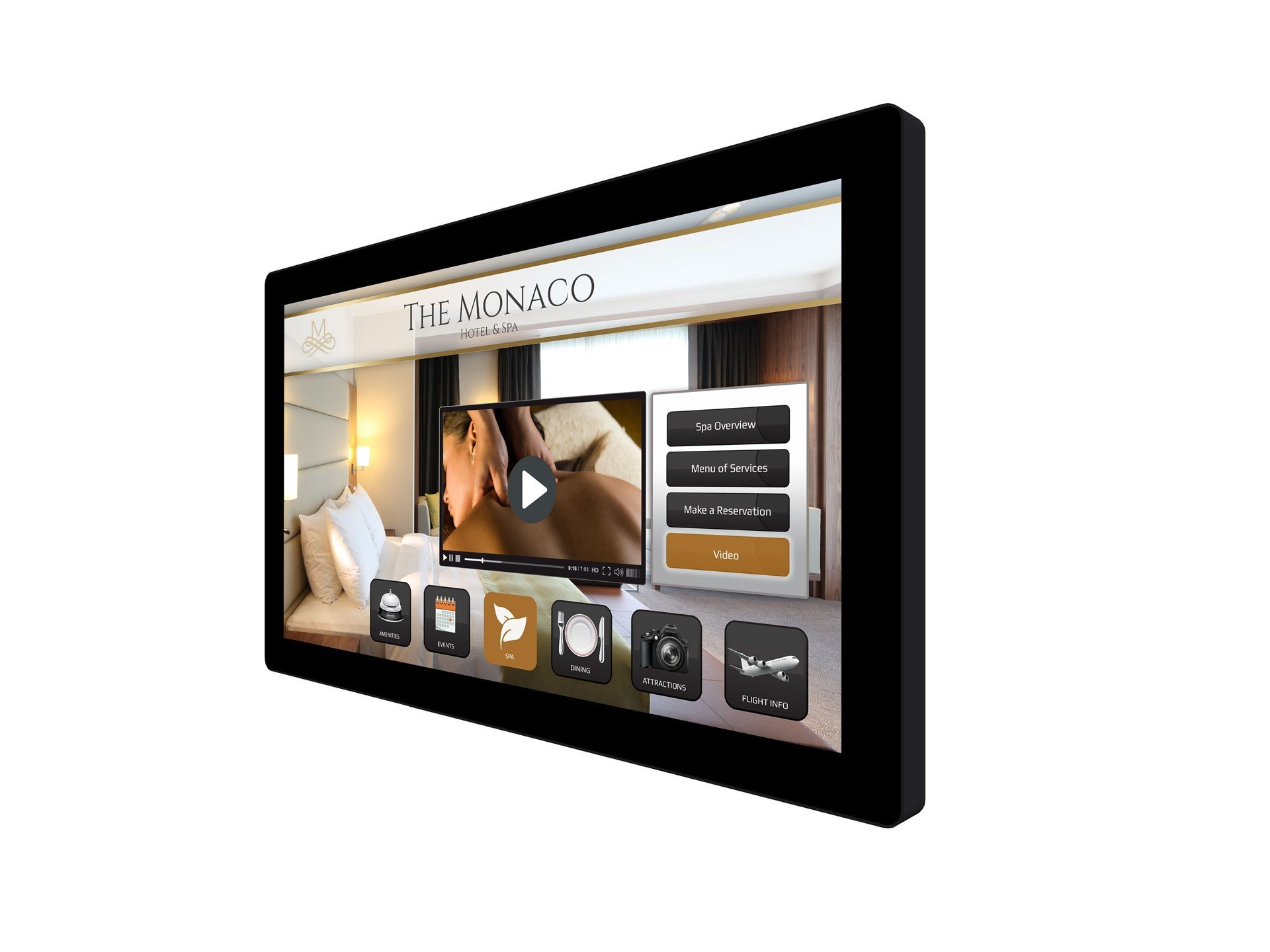 Planar Systems 997-8492-00 Planar, 32 Inch Wide Black Projected Capacitive Multi Touch Fho Edge Lit Led LCD USB Controller Hdmi Dp Dvi-D and Vga Inputs Control Via Rs-232
