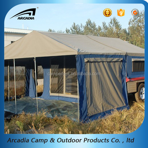 4x4 C&ers Outdoor Canvas Trailer Tent Cargo Carrier Roof Tent & China carrier tent wholesale ?? - Alibaba