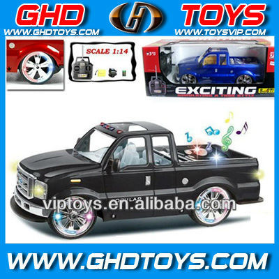 1:14 scale 4ch 4WD Ford rc car with music and light