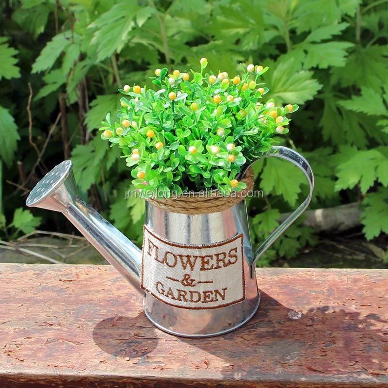 Avrupa Tarzı Galvanizli Boyama Bahçe Metal Sulama Olabilirkırsal