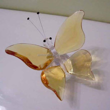 popular decoration wedding glass butterfly MH-D0203