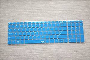 Leze Ultra Thin Transparent Keyboard Protector Cover Skin for HP ProBook 450 G1/G2, ProBook 650 G2 Laptop - Semi Blue
