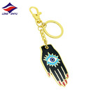 Longzhiyu 12years hard enamel keychain supplier custom movie evil eye keychain custom 3d anime keychain