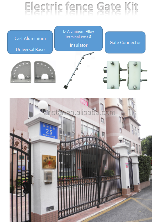 China Perimeter Security Fence Electric Fence Kit For Gate Buy Electric Fence For Gate Electric Fence Gate Electric Fence Gate Kit Product On