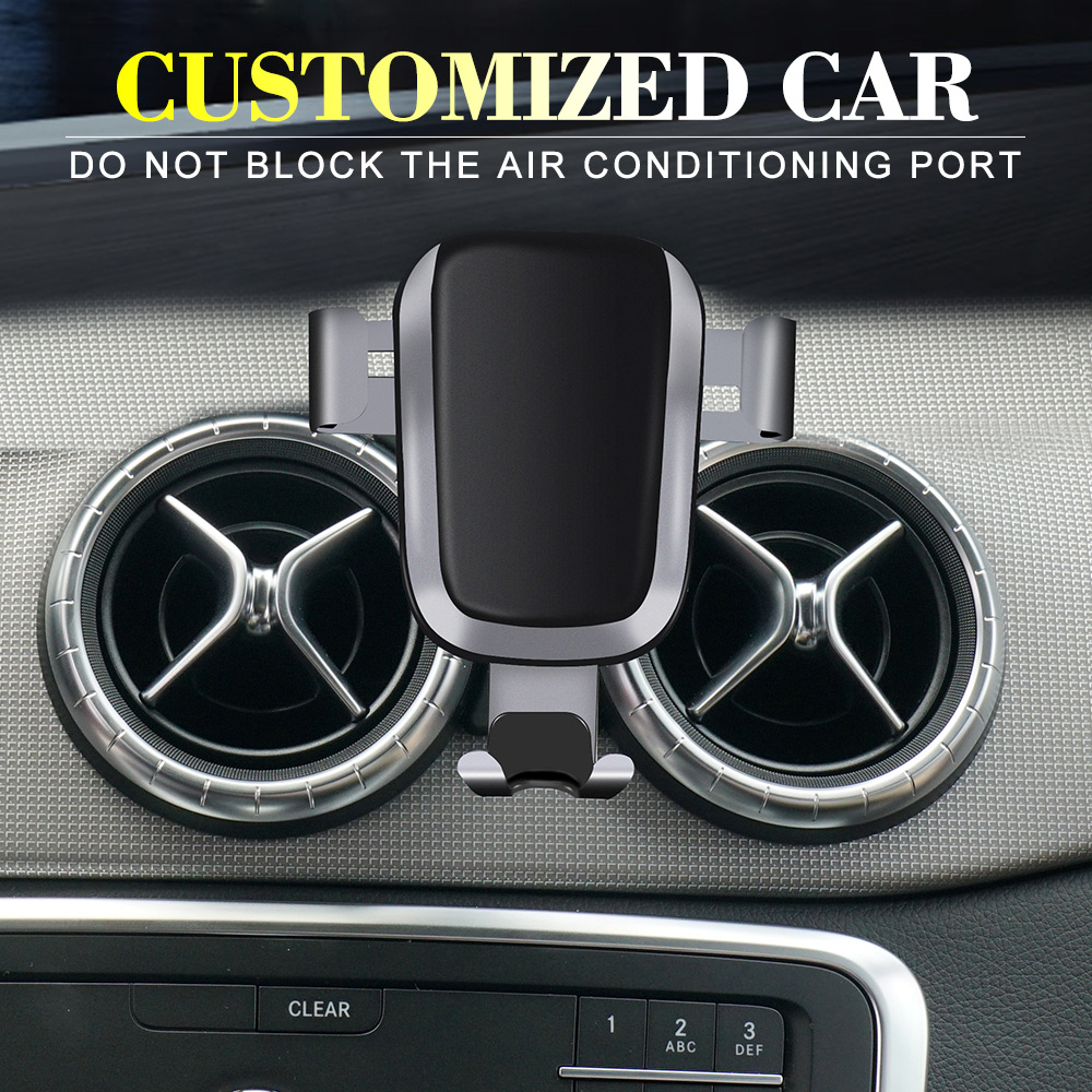 2019 Fashion Wireless charging mobile phone holder car accessories for GLC/C class  only