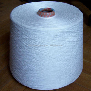 100% Viscose Rayon material spun yarn dyed all colors