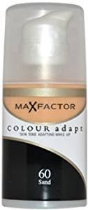 Women Max Factor Colour Adapt Skin Tone Adapting Makeup - # 60 Sand Make Up 34 ml 1 pcs sku# 1759908MA