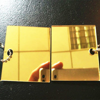 2.8mm Full color gold silver 4x8 4x6ft acrylic self adhesive mirror sheet