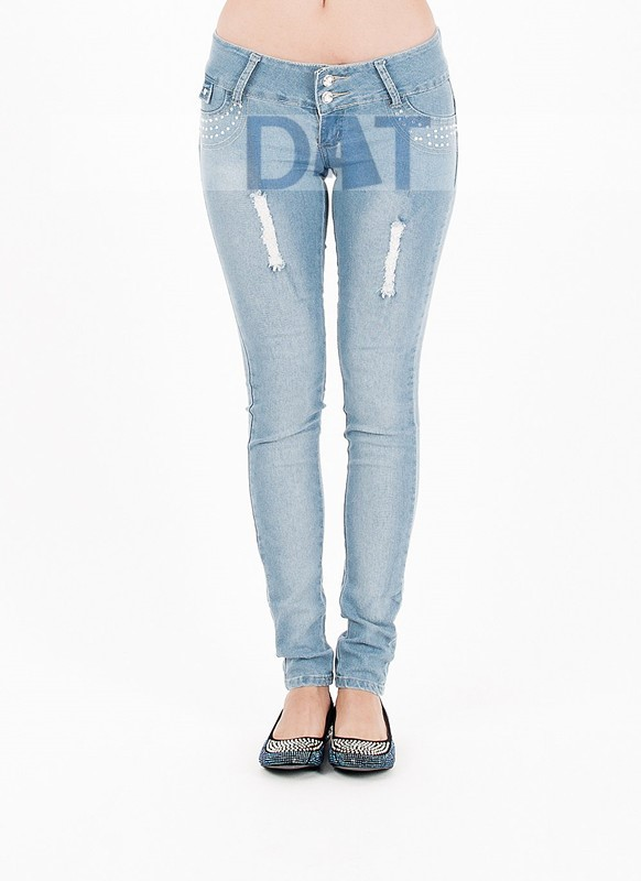 f685ddf3a Colombian Design High Waist Butt Lift Levanta Cola Skinny Jeans ...