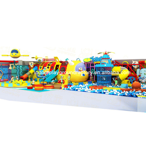 Plane Themes Indoor Kids Park Playground for Play Center or Shopping Mall
