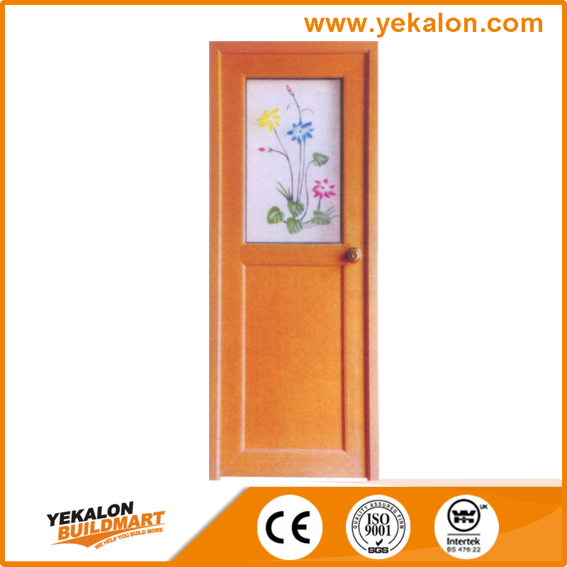 China Manufacturer Modern Design Waterproof Pvc Bathroom Door