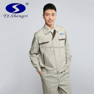 Professional work coverall custom design work jacket uniform