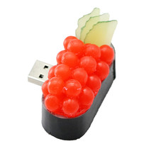 OEM Gift Usb Flash Drive Colorful Fine Cute Sushi PVC USB Pen Drive 2GB 4GB 8GB Custom Logo USB Stick