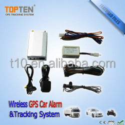Two way FM car alarm with shocking sensor and wireless relay TK210