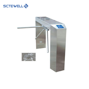 New Design Automatic Pedestrian Waist Height RFID Reader Tripod Turnstile with Access Controller