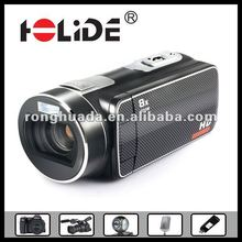 2012 fashional hd Video Digital Camcorder with 5Mega pixels,the max 12mega pixels,3 inch LCD/Lithium battery/HDMI(HDV-530)
