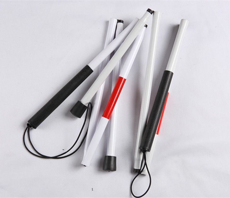 Adjustable Length Telescoping White Cane For The Blind