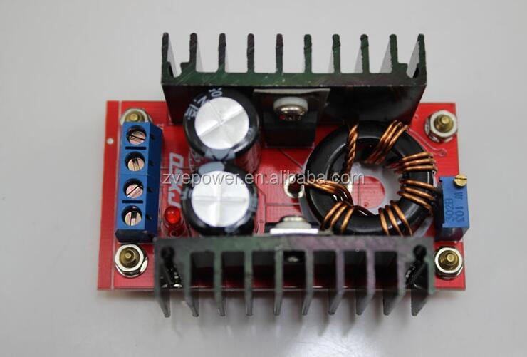 HOT SALE!!150W DC-DC Boost Converter 10-32V to 12-35V 6A Step-Up Power Supply Module