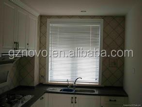Interior Decoration Electric Motor Roller Blinds / Wood Venetian Blind Slats