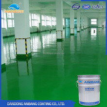 AB-DP-300M fast drying waterproof oil resistance self levelling epoxy floor coating