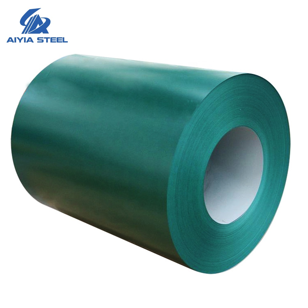 AIYIA PPGI Steel Coils, Color Coated Steel Coil, Prepainted Galvanized Steel Coil / Sheet Metal Building <strong>Materials</strong>