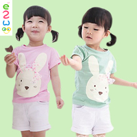 The Rabbit Shorts Outfit Kids Clothing Sets China Manufacturer