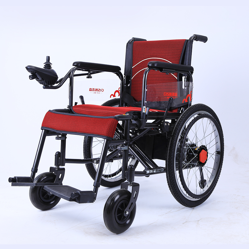 famous battery & joystick controller operated power electric wheelchair color 220