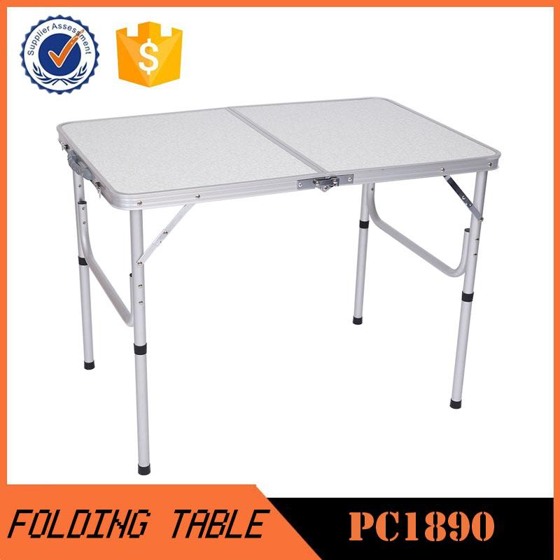 China Aluminum Folding Picnic Table/metal Folding Camping Table ...