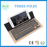 portable wireless best folding mini bluetooth keyboard for tablet