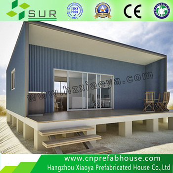 Favorites Compare Low Cost Two Storey Prefabricated Steel Frame House,cheap  Prefabricated House Price