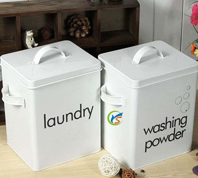 Metal Laundry Powder Tin Box Buy Laundry Powder Tin Box