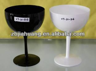 black and white marguerite glass cups/cocktail glass