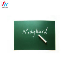 A4 size chalk writing erasable magnetic blackboard