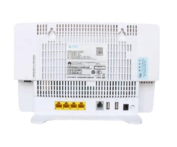 GPON ONU ONTARIO HGU Routeur Double Bande 4GE + Wifi2.4GHz/5 GHz Même Fonction que Huawei HG8245H/HG8546V