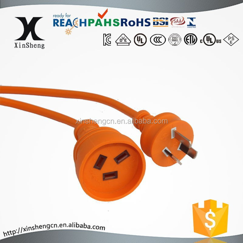 SAA approval extension cord heavy duty type