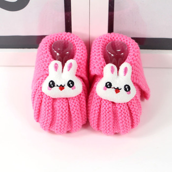 0354a3cb7563 0-1 Year Old Wool Socks Autumn And Winter Bunny Rabbit Newborn Soft ...
