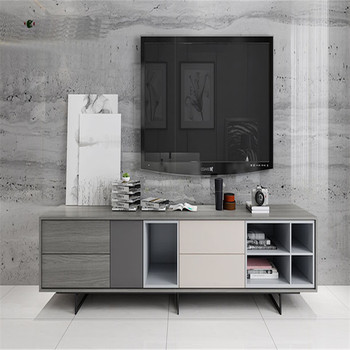 MDF wooden modern simple tv stand