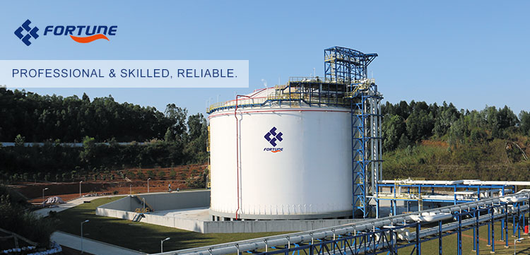 Cina liquido criogenico serbatoio di stoccaggio di gas di ossigeno